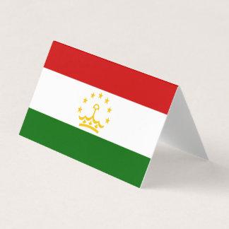Tajikistan Flag Place Card