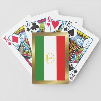 Tajikistan Flag Playing Cards