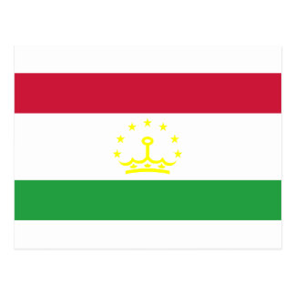 Tajikistan Flag Post Cards