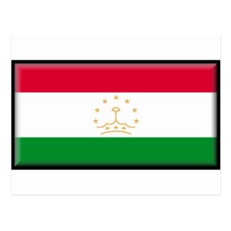 Tajikistan Flag Postcards