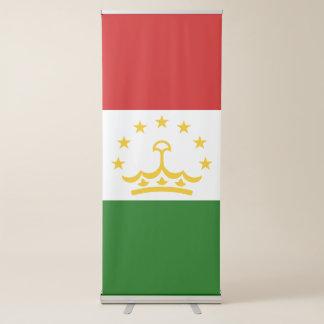 Tajikistan Flag Retractable Banner