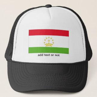 Tajikistan flag souvenir hat