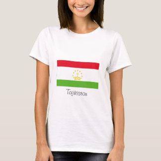 Tajikistan flag souvenir tshirt