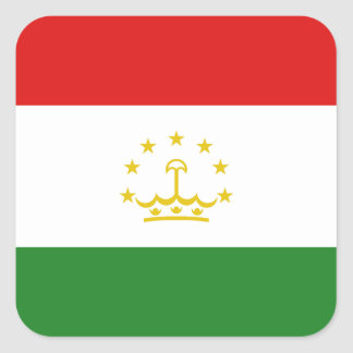 Tajikistan Flag Sticker