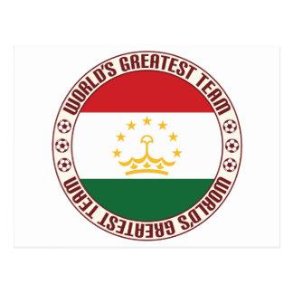 Tajikistan Greatest Team Postcard