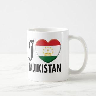 Tajikistan Love Coffee Mug