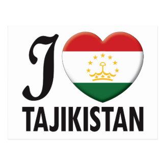 Tajikistan Love Postcard