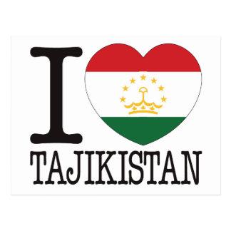 Tajikistan Love v2 Postcards