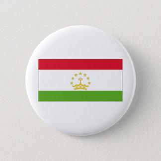 Tajikistan National Flag 6 Cm Round Badge