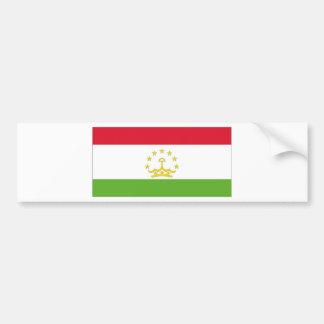 Tajikistan National Flag Bumper Sticker