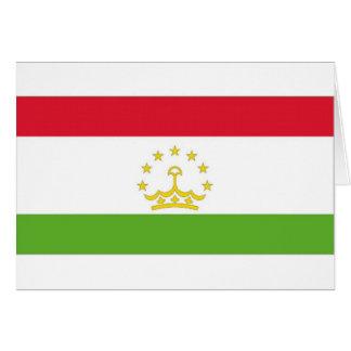 Tajikistan National Flag Greeting Cards