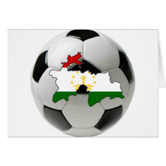 Tajikistan national team greeting card