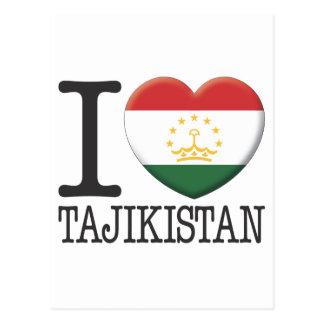 Tajikistan Post Card