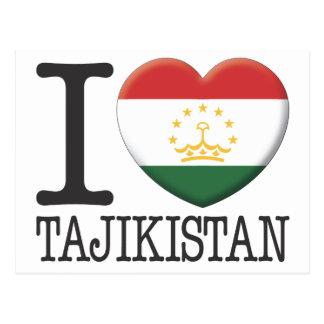 Tajikistan Postcard