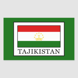 Tajikistan Rectangular Sticker