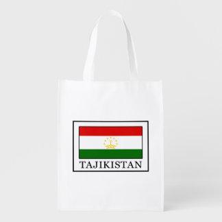 Tajikistan Reusable Grocery Bag