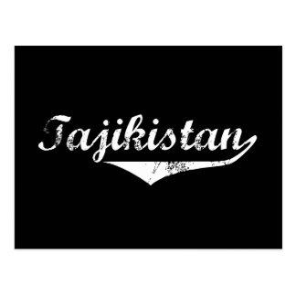 Tajikistan Revolution Style Postcard
