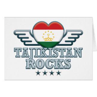 Tajikistan Rocks v2 Cards