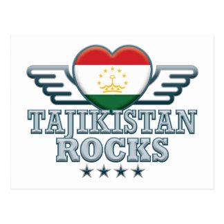 Tajikistan Rocks v2 Postcards