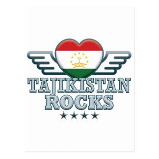 Tajikistan Rocks v2 Post Cards