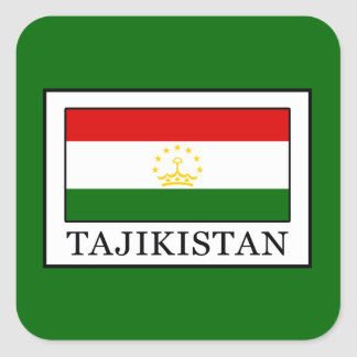 Tajikistan Square Sticker