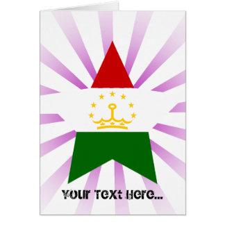 Tajikistan Star Cards