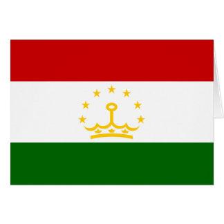 Tajikistan, Syria Greeting Card