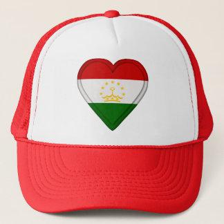 Tajikistan Tajikistanese Flag Trucker Hat