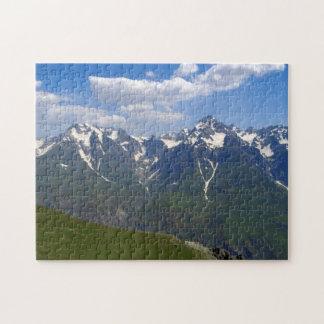 Tajikistan's Mountains Jigsaw Puzzle