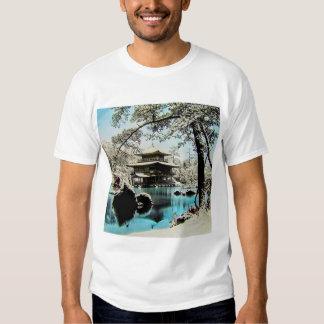 TAKAGI Glass Magic Lantern Slide KINKAKUJI GARDENS Shirts
