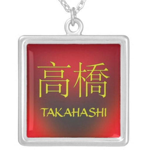 Takahashi Monogram Custom Necklace
