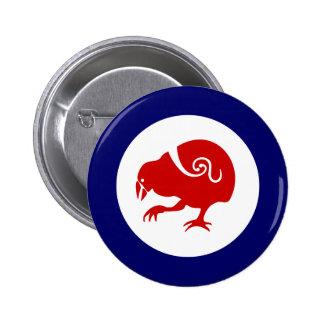 Takahe Air Force Roundel 6 Cm Round Badge