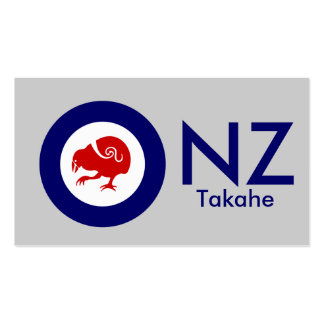 Takahe Air Force Roundel Double-Sided Standard Business Cards (Pack Of 100)