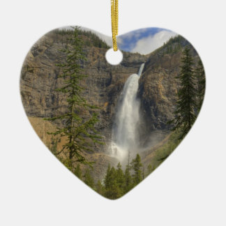 Takakkaw Falls Christmas Ornament