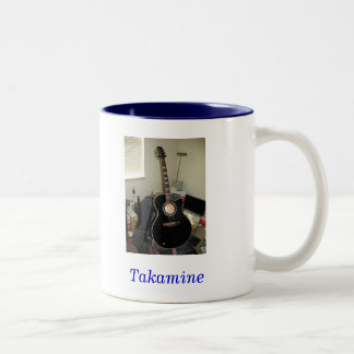 Takamine Guitar (2-Tone Mug) Two-Tone Coffee Mug