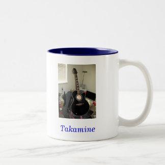 Takamine Guitar (2-Tone Mug) Two-Tone Mug