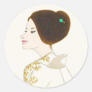 Takasawa Keiichi Pictures of Women Number 4 Sticker