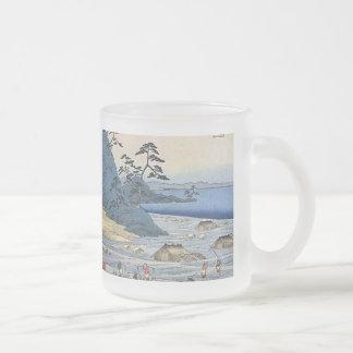 Takatsuyama Iwami Frosted Glass Mug