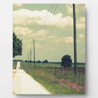 Take A Back Road Display Plaque