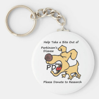 Take a Bite Out of Parkinson's Key Ring
