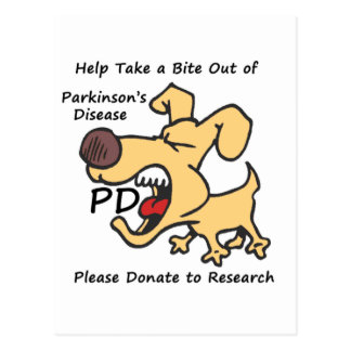 Take a Bite Out of Parkinson's Postcard