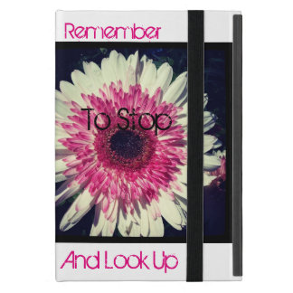 Take a break and smell the flowers covers for iPad mini