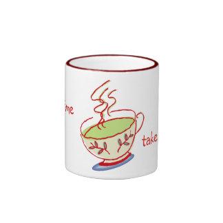 Take a Break Green Tea Mugs