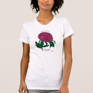 Take a Deep Breath Peony T-Shirt