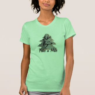 Take a Hike Custom Slogan Tee Shirts