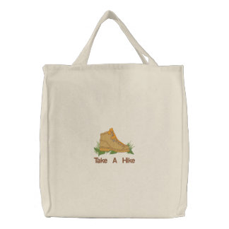 Take A Hike Embroidered Bag