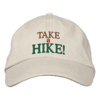 Take a Hike! Embroidered Hat