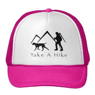 Take a Hike Hat-Weimaraner