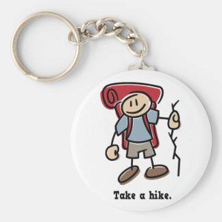 Take a Hike Key Ring