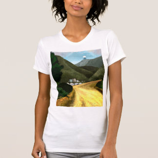Take a hike. Ladies American Apparel Fine Jersey T-Shirt